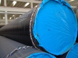 Api 3PE 3lpe Coating Welded Steel Pipes pour Potable Water