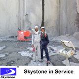 Провод увидел машину для каменного карьера и вырезывания
