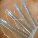 Vidro de vidro ultra desobstruído do vidro do Baixo-Ferro/edifício