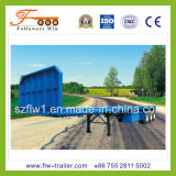 Semi-Trailer Flatbed do recipiente de 40feet 3axle