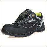 Chaussures de sûreté légères en cuir de liberté de Microfiber