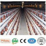 Poulの技術の養鶏場の層の卵の鶏のケージ(熱い亜鉛めっき)