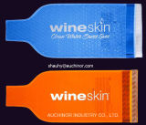 プラスチック再使用可能な、Resealable泡クッションのワイン・ボトル袋
