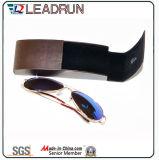 Случай Eyeglasses случая кожаный случая зрелища коробки случая солнечных очков металла стеклянного оптически (Hx291)
