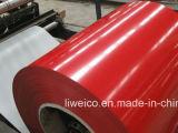 La qualità di perfezione di prezzi di fabbrica ha preverniciato la lamiera sottile d'acciaio galvanizzata della bobina (PPGI/PPGL)/tetto