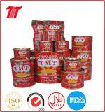 Inserimento di pomodoro inscatolato marca organica di Tmt di Brix 28-30% per il prezzo all'ingrosso