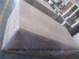 Painel de parede entalhado T do MDF /Groove MDF/Slotted de Factory-18mm com ganchos
