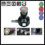 Aluminiumlichter der farben-Änderungs-3W des Pfad-LED unterirdisch