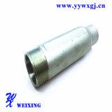 Ajustage de précision hydraulique de boyau de boyau droit en deux pièces de connexion