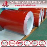 Ral 9012 Ral9003 färbte Zink-Beschichtung-Eisen-Blatt-Ringe PPGI