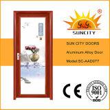 El tipo moderno puerta de aluminio del cuarto de baño diseña (SC-AAD012)