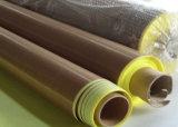 Folha da fibra de vidro de PTFE, revestimento protetor Ot adesivo da folha da fibra de vidro do Teflon nada adesivo