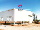 Edificio de almacenaje prefabricado del almacén/de la granja de la estructura de acero (SSW-583)