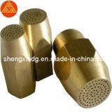 Piezas que trabajan a máquina del torno de cobre amarillo de la precisión (SX152)