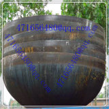 Pista esférica inoxidable del plato del fin principal del tanque de acero del plato de la pista esférica del tanque