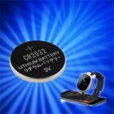 Lithium-Tasten-Zellen-Batterie für Sport IP67 Bluetooth Armbanduhr