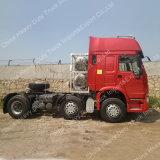 Camion d'entraîneur de marque de HOWO avec le type 6X2 pilotant