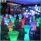Cadeira de LED e mesas para festa de jardim do casamento Christmas Decoratio