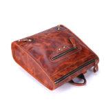 Zaino del sacchetto di banco del cuoio dell'annata di stile casuale dei commerci all'ingrosso