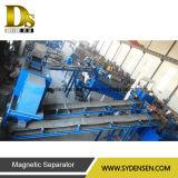 Máquina de reciclaje para la separación de residuos que contienen aluminio