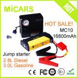 Mini dispositivo d'avviamento del ponticello della batteria del dispositivo d'avviamento multifunzionale portatile di salto