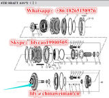 Передача Sdlg LG936 LG938 LG953 LG956 LG958 LG968 разделяет вал агрегата 7200000462 оси вторичный