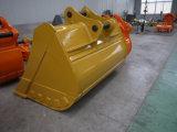 As peças excelentes da construção da máquina escavadora limpam a cubeta