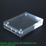 marco magnético de acrílico plástico del claro de la pulgada 4X6