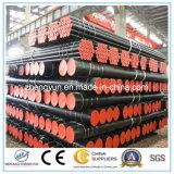 Sin fisuras de tubo de acero de bajo carbono y tuberías