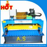 Colorer le roulis automatique de feuille ondulée en acier de toit formant la machine