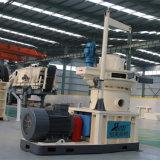 1.2t Ring Die Vertical Dobule Tizes Grass Wood Sawdust Alfalfa Bamboo Granulate Machine Plant