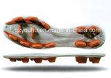 フットボールのOutsoleの熱いサッカーは足底に蹄鉄を打つ