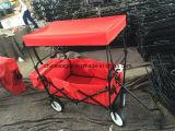 De Handige Wagen van de rode Kleur met Luifel