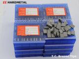 O carboneto de tungstênio soldou pontas soldadas carboneto das inserções