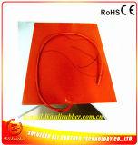 400*500*1.5mm Rubber 3D 110V 600W 3m Verwarmer Printer Silicone Zelfklevende 100k