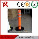 Poteau d'amarrage flexible de poste de dessinateur du poste Bollard/T-Top de ressort de guide de PE