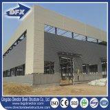 Armazém/oficina/hangar/galinha do projeto do frame de aço vertida/edifício