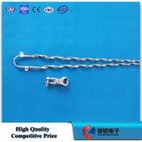 Sackgasse-Schelle-schraubenartige Kerl-Griffe für ADSS/Opgw Kabel