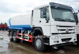 Vehículo del aerosol del carro o de agua del tanque de agua del carro 6X4 15m3-20m3 de HOWO con 266HP/290HP/336HP/371HP