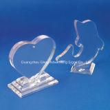 Trofeo acrilico del plexiglass dell'alto getto trasparente