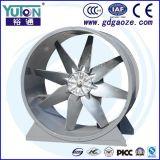Double ventilateur de ventilateur d'Axialexhaust de flux d'air d'atelier (GWS-II)