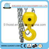 Tipo de HS-J bloco Chain da polia da mão de 5 toneladas