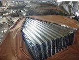 El oro de China suministra la hoja de acero galvanizada metal acanalado barato
