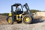 местность Forklift 10ton Rough, 4WD, Duplex Mast, Deutz Engine