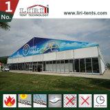 Diseño de aluminio grande de la tienda de la exposición del marco los 40X60m para la venta