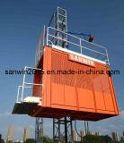 Двойной подъем здания клетки для транспортированного пассажира