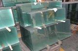 Glace Tempered de flotteur ultra clair de sûreté pour la glace de guichet de porte de salle de bains