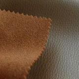 Cuoio legato durevole di fusione con effetto del cuoio genuino per i sacchetti, borse, pattini, sofà