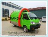 Camion elettrico dell'alimento di China Mobile con quattro rotelle