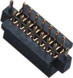 1.27mm Dubbele 180 Graden van het Wijfje van de ONDERDOMPELING H=4.4mm